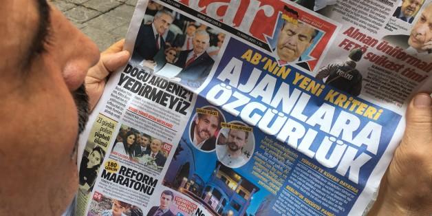 Türkische Medien reagierten ungehalten auf den Kurswechsel aus Berlin