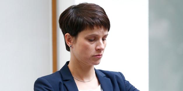 Umstrittenes Wahlplakat: Frauke Petry will offenbar mit ihrem Baby werben