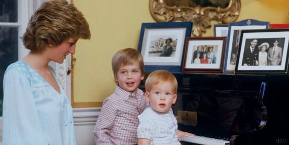 prince william harry diana