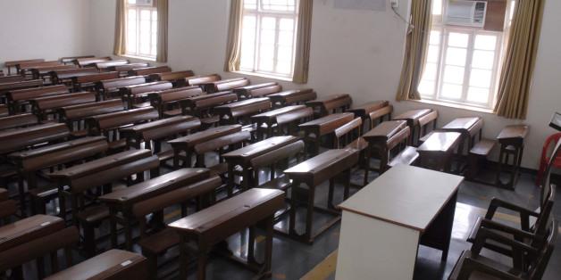 MUMBAI, INDIA - MARCH 24, 2011: Ramnarain Ruia College -. (Photo by Kalpak Pathak/Hindustan Times via Getty Images)