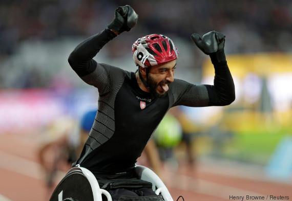 world para athletics london tunisia
