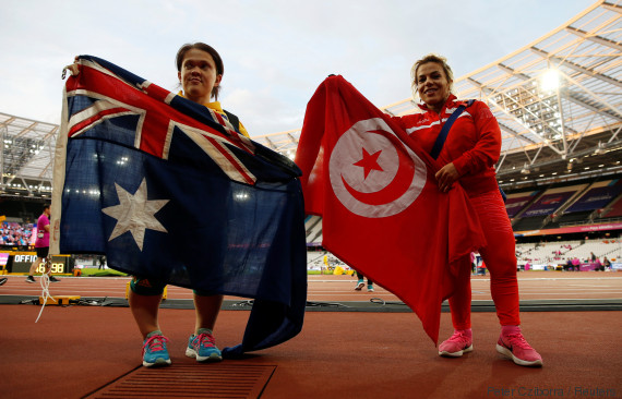 world para athletics london tunisia