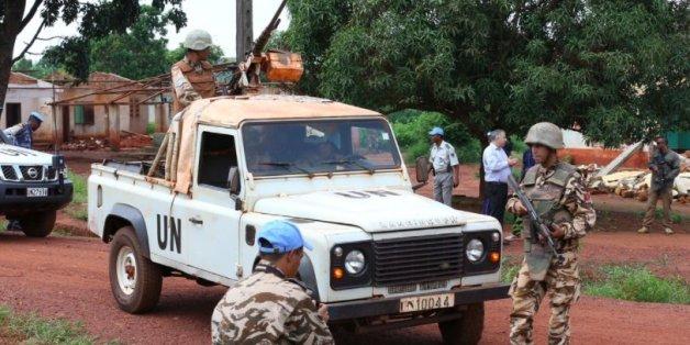 Le contingent marocain revenait d'un convoi humanitaire