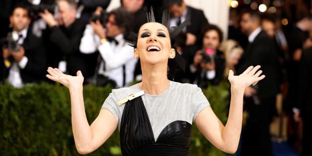 Metropolitan Museum of Art Costume Institute Gala - Rei Kawakubo/Comme des Garcons: Art of the In-Between - Arrivals - New York City, U.S. - 01/05/17 - Singer Celine Dion. REUTERS/Lucas Jackson