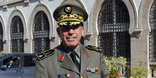 The head of the Tunisian armed forces General Rachid Ammar poses in front of his office at the ministry of defence, on February 5, 2011 in Tunis. Tunisia took fresh steps to draw a line under the old regime, paying families of victims killed during the revolution as Europe slapped froze the assets of 46 associates of the ousted president. AFP PHOTO / FETHI BELAID (Photo credit should read FETHI BELAID/AFP/Getty Images)