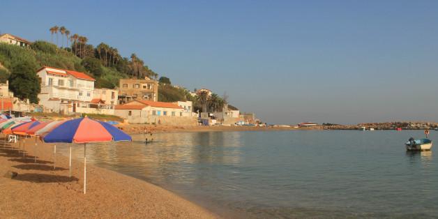 Plage de Surcouf à Alger