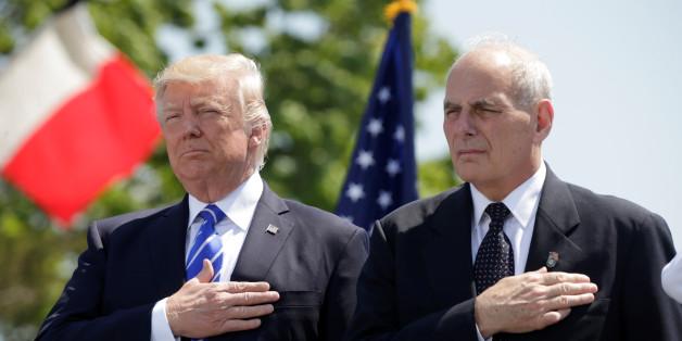 US-Präsident Trump hat einen neuen Stabschef - der könnte einigen Vertrauten des Präsidenten zum Verhängnis werden