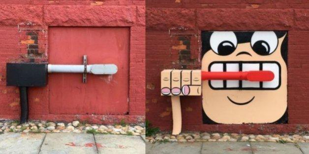 L'artiste américain conquit les rues de New York avec ses créations très originales