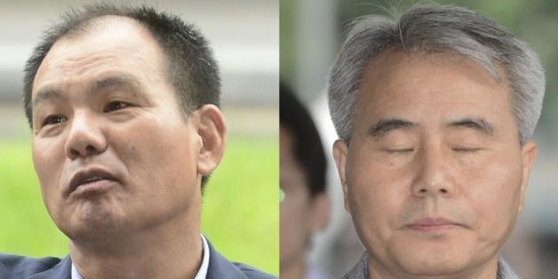 19대 대선 당시 국민의당 공명선거추진단 실무를 맡았던 김성호 전 수석부단장(왼쪽)과 김인원 전 부단장.© News1