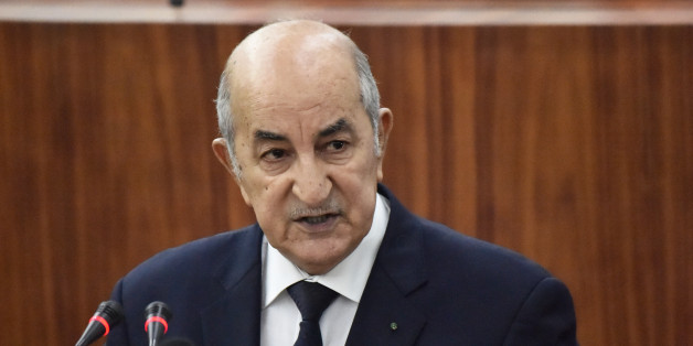 Prime Minister Abdelmadjid Tebboune unveiled the main lines of the government's action plan to members of the National People's Congress (NPC) on June 20, 2017 in Algiers. / AFP PHOTO / RYAD KRAMDI / RYAD KRAMDI        (Photo credit should read RYAD KRAMDI/AFP/Getty Images)