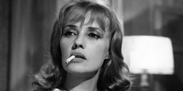 (GERMANY OUT) Jeanne Moreau *23.01.1928- Schauspielerin, Frankreichim Film 'Eva'Regie: Joseph LoseyI/F 1962 (Photo by ullstein bild/ullstein bild via Getty Images)