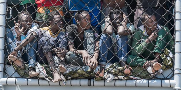 Flüchtlinge in Italien