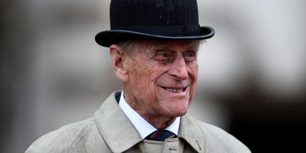 Britain's Prince Philip, in his role as Captain General, Royal Marines, attends a Parade to mark the finale of the 1664 Global Challenge, on the Buckingham Palace Forecourt, in central London, Britain August 2, 2017.  The 96-year-old husband of Britain's Queen Elizabeth, made his final solo appearance at the official engagement on Wednesday, before retiring from active public life.  REUTERS/Hannah McKay     TPX IMAGES OF THE DAY
