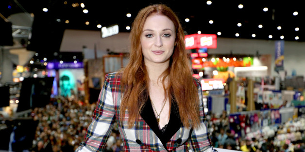 SAN DIEGO, CA - JULY 21:  Actress Sophie Turner at the 'Game of Thrones' autograph signing with HBO at San Diego Comic-Con International 2017 at San Diego Convention Center on July 21, 2017 in San Diego, California.  (Photo by FilmMagic/FilmMagic)