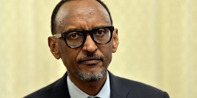 Rwanda's President Paul Kagame looks on as he meets Belgium's Prime Minister Charles Michel in Brussels, Belgium June 8, 2017. REUTERS/Eric Vidal