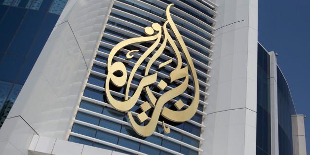 The logo of Al Jazeera Media Network is seen on its headquarters building in Doha, Qatar June 8, 2017. REUTERS/Naseem Zeitoon