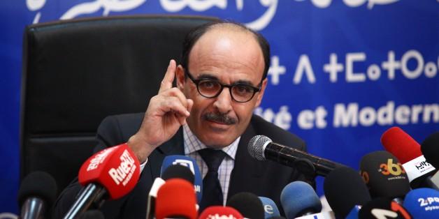 Ilyas El Omari s'explique à propos de sa démission lors d'une conférence de presse tenue le 8 août