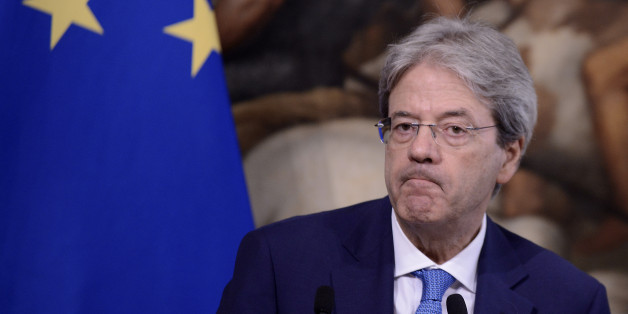 ROME, ITALY - JULY 26: Prime Minister Paolo Gentiloni at Palazzo Chigi on July 26, 2017 in Rome, Italy. Paolo Gentiloni has previously met with Fayez al-Sarraj to discuss migration and border control. (Photo by Simona Granati - Corbis/Corbis via Getty Images)