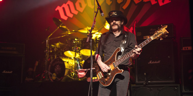 CHARLOTTE, NC - SEPTEMBER 23:  Singer/bassist Lemmy Kilmister of Motorhead performs at The Fillmore Charlotte on September 23, 2015 in Charlotte, North Carolina.  (Photo by Jeff Hahne/Getty Images)