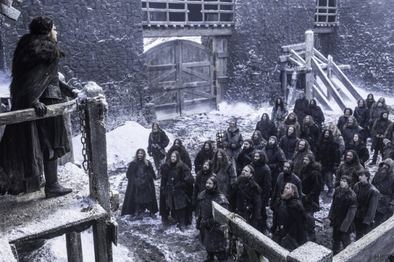 nights watch game of thrones