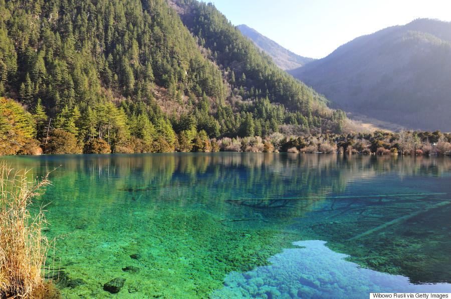 sparkling lake china