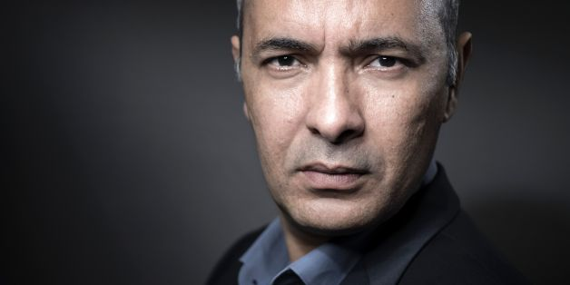 Algerian writer and journalist Kamel Daoud poses during a photo session in Paris on February 20, 2017. / AFP / JOEL SAGET        (Photo credit should read JOEL SAGET/AFP/Getty Images)
