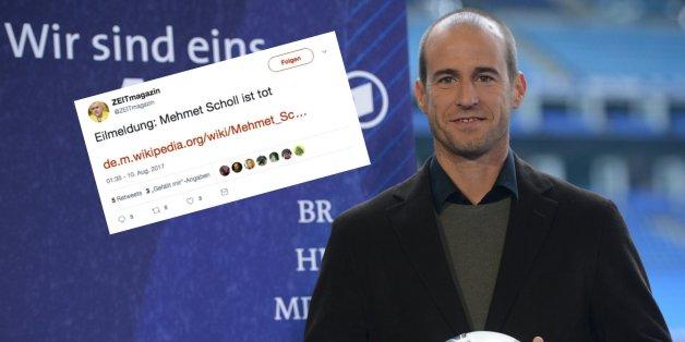"""""""Mehmet Scholl ist tot"""" - das steckt hinter dem Tweet, der derzeit für Wirbel sorgt"""