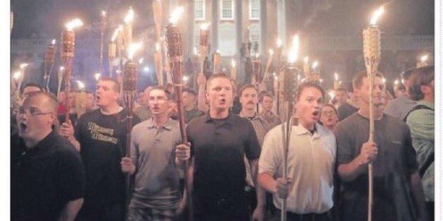 """""""Blut und Boden"""": Nazis und Rechtsextreme ziehen mit Fackeln durch US-Stadt Charlottesville"""