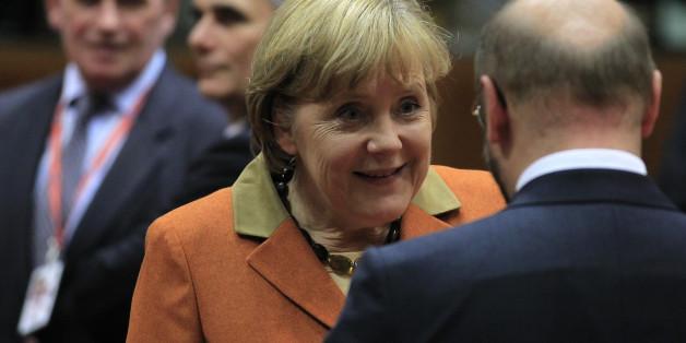 Merkel sagt, sie habe die Wahl noch nicht gewonnen – und denkt dabei wohl genau das Gegenteil