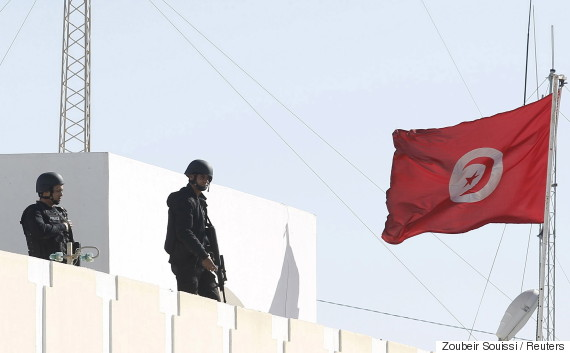 tunisian police patrol