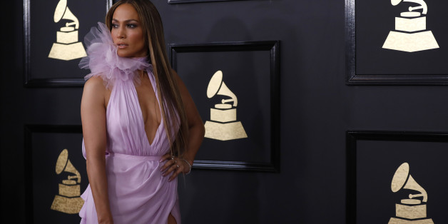 Singer Jennifer Lopez arrives at the 59th Annual Grammy Awards in Los Angeles, California, U.S. , February 12, 2017. REUTERS/Mario Anzuoni