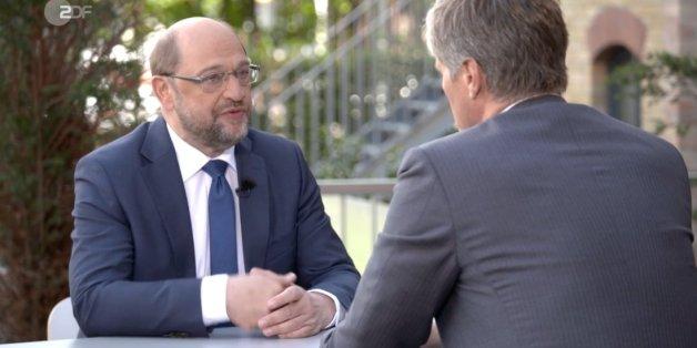 """""""Warum sollten die Leute mit Ihnen ein Risiko eingehen?"""" Schulz muss sich im ZDF harten Fragen stellen"""