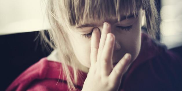 Auch Kinder können Kopfschmerzen haben