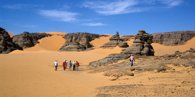 Algeria. Surrounding Of Tamanrasset. (Photo by: Hermes Images/AGF/UIG via Getty Images)