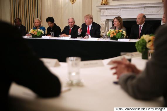 donald trump american manufacturing council