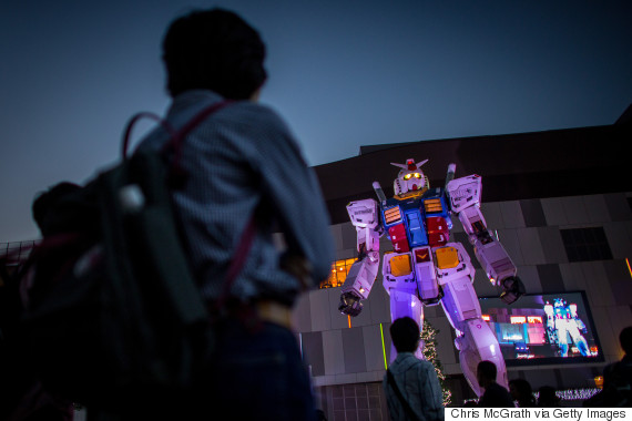 18meter tall giant robot