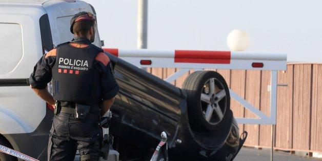 Six civils et un policier blessés dans l'attaque dans la station balnéaire de Cambrils en Catalogne