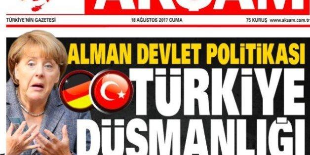Erdogans Marschbefehl: Wie jetzt alle türkischen Zeitungen gegen die Kanzlerin hetzen
