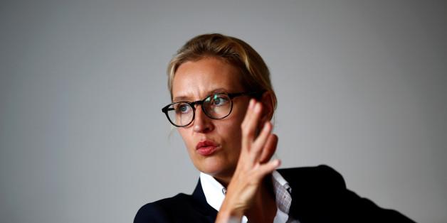 Wie AfD-Spitzenkandidatin Alice Weidel in einem Interview mit falschen Fakten Angst schürt