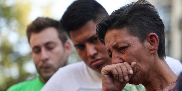 De l'émotion à Las Ramblas à Barcelone après l'attentat, jeudi 17 août 2017