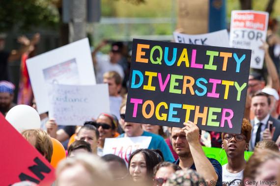 boston rally racism