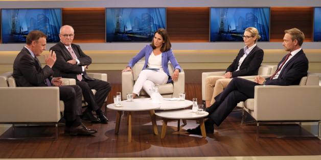 Volker Kauder bei Anne Will