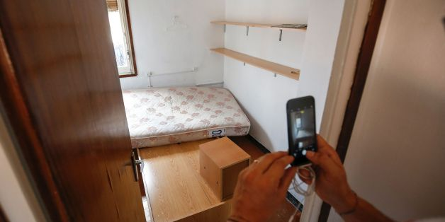 A picture taken on August 19, 2017 with the agreement of the flatmate of imam Abdelbaki Es Satty shows the room of the imam, after police officers carried out a search linked to the deadly terror Barcelona attack at the home in Ripoll, two days after a van ploughed into the crowd, killing 13 persons and injuring over 100.The El Pais daily, quoting police sources, said the imam could be one of the dead in the explosion of Alcanar. Drivers have ploughed on August 17, 2017 into pedestrians in two q