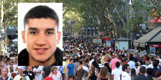 Une vidéo montre l'auteur de l'attentat de Barcelone prenant calmement la fuite