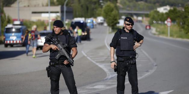 Terror-Fahrer von Barcelona von Polizei erschossen