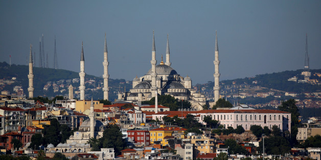 The Ottoman-era Sultanahmet mosque, also known as the Blue Mosque, is pictured in Istanbul, Turkey, July 30, 2017. Picture taken July 30, 2017. REUTERS/Murad Sezer