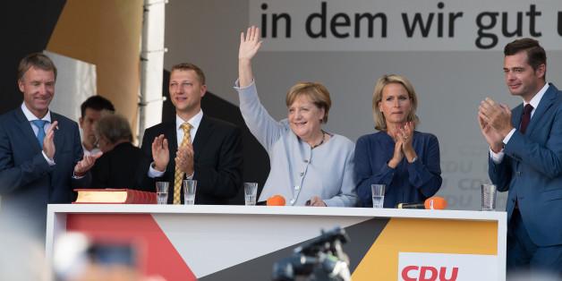 "Mann verprügelt CDU-Wahlkampfhelfer - wegen dessen ""Kanzlerin-Fan""-Shirts"