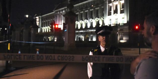 EIL: Polizei nimmt Mann am Buckingham Palace fest - zwei Beamte verletzt (Symbolbild)