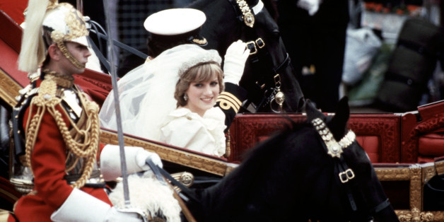 LONDON, ENGLAND: Royal Wedding. Photo Of Diana Princess of Wales taken by Boris Spremo July 29, 1981.        (Boris Spremo/Toronto Star via Getty Images)