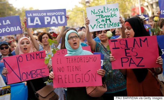 barcelona march terrorism